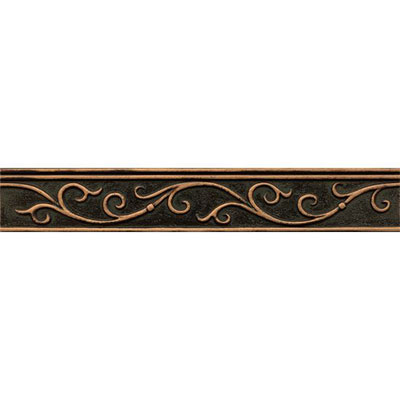 Bedrosians Ambiance Gothic Leaf Liner Venetian Bronze