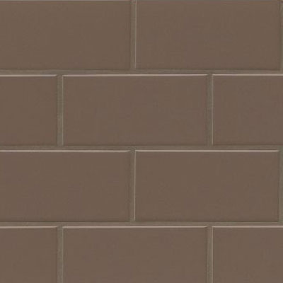 Bedrosians Traditions 3 x 6 Gloss Cocoa