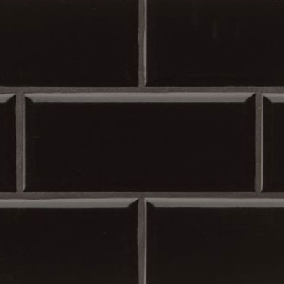 Bedrosians Traditions 4 x 10 Beveled Black