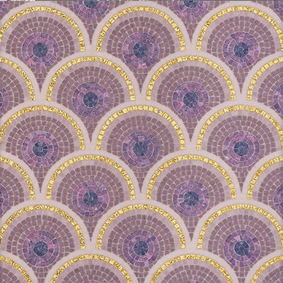 Bisazza Mosaico Artistic Technique 10 - Loop Purple