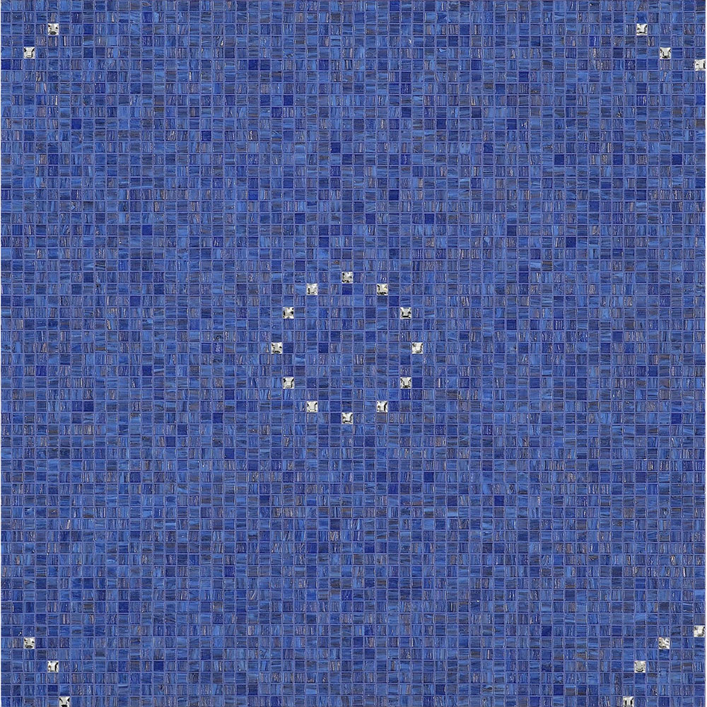 Bisazza Mosaico Decori 10 - Flash Flash Blue