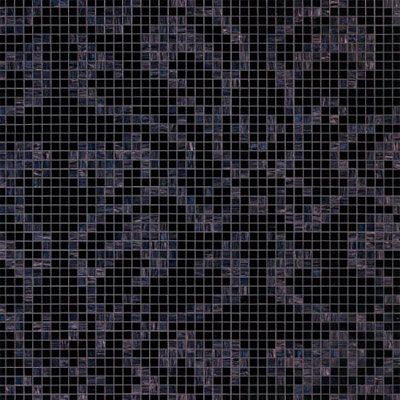 Bisazza Mosaico Decori 20 - Damasco Black Damasco Black