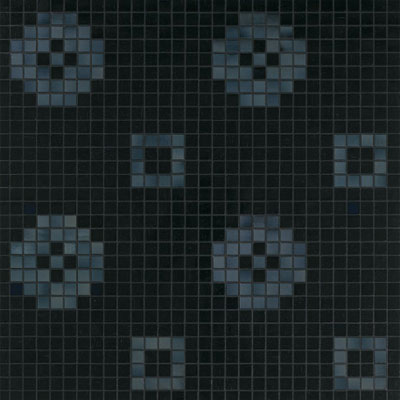 Bisazza Mosaico Decori 20 - Petit Four Nero Petit Four Nero