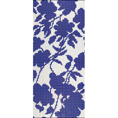 Bisazza Mosaico Decori 20 - Shadow Blue A Shadow Blue A