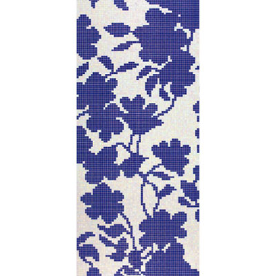 Bisazza Mosaico Decori 20 - Shadow Blue B Shadow Blue B
