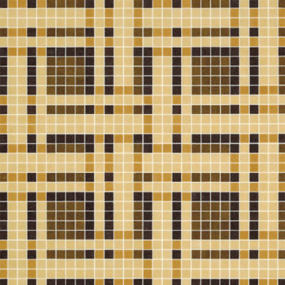 Bisazza Mosaico Decori VTC 20 - Gate Brown Gate Brown