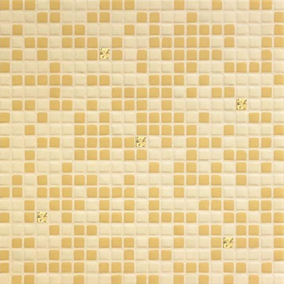 Bisazza Mosaico Opus Romano Mixes with Gold 12mm Bice Oro Bice Oro