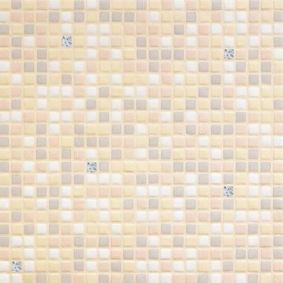 Bisazza Mosaico Opus Romano Mixes with Gold 12mm Ghiaia Oro Ghiaia Oro