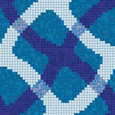 Bisazza Mosaico Piscine - Swimming Pools Mirage Blue Mirage Blue