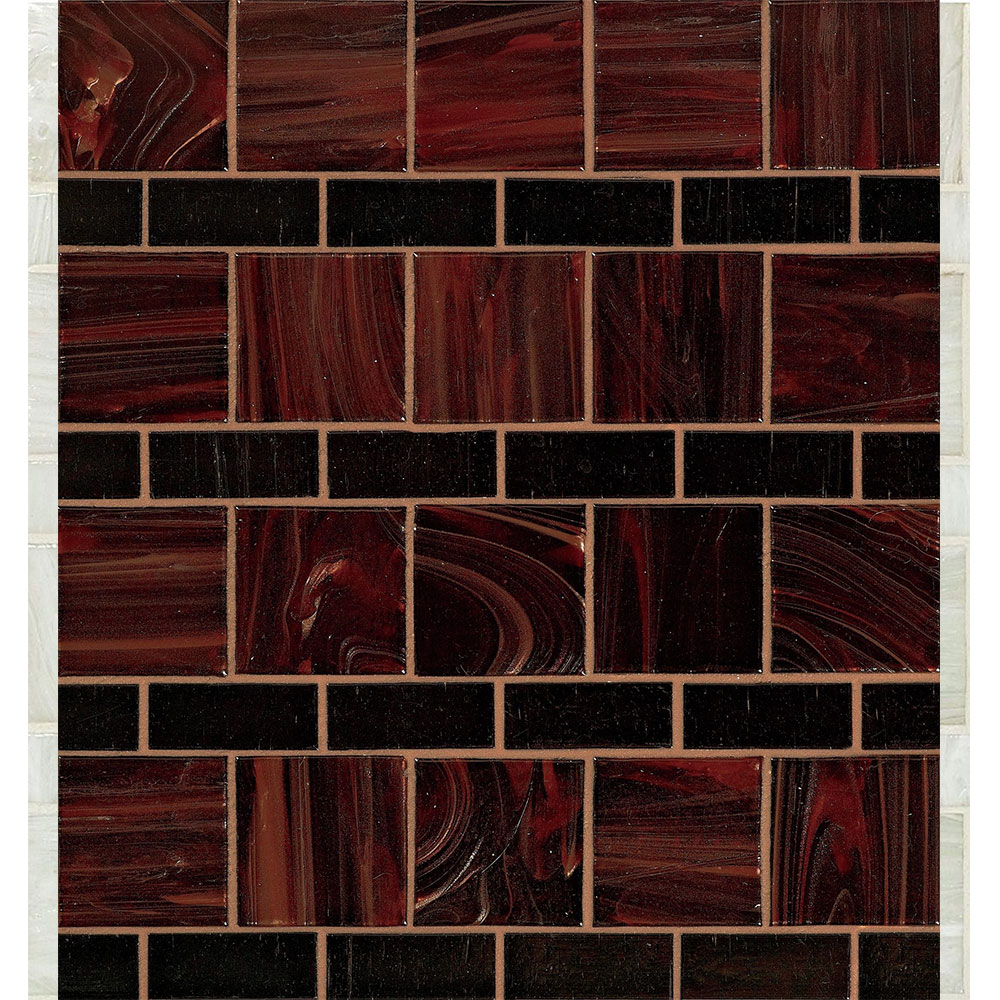 Bisazza Mosaico Decorations Variations Line Dark Line