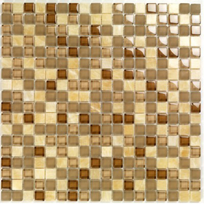 Casa Italia Pure & Natural Mosaic Glossy Onix Brown (07200004) CIT07200004