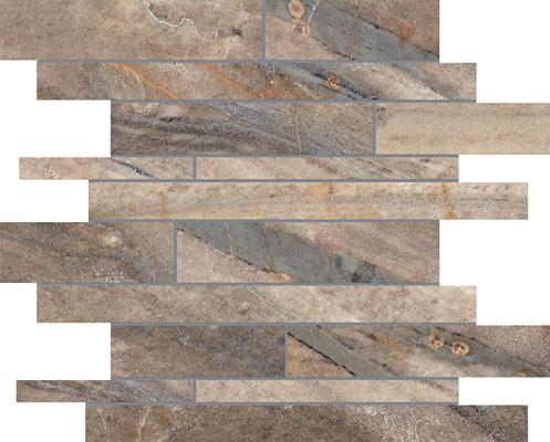 Casabella Evolution Mosaic Random Strip Earth