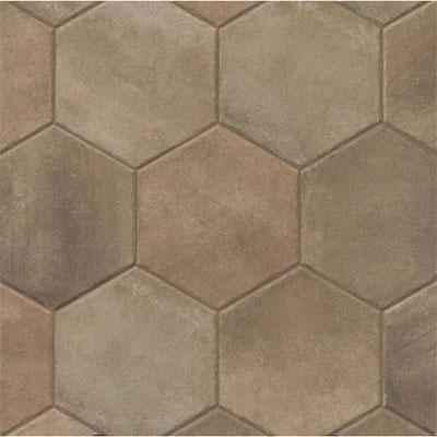 Casabella native hexagon dark for Bella casa tiles