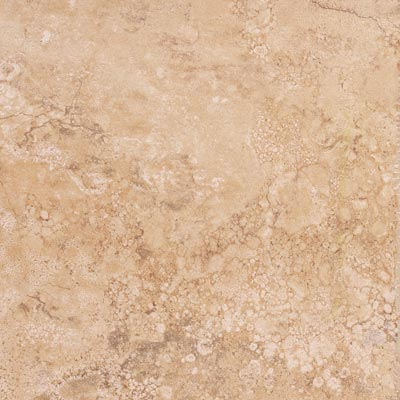 Tesoro Travertino Fiorito 18 x 18 Gold RITFGO18
