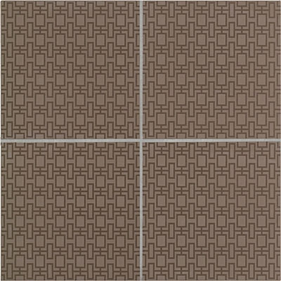 Crossville Building Blox (Urban Fabric) 12 x 12 Taupe A1207