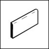 Crossville Cross-Grip 8 x 8 Bullnose (Carton) 4 x 8