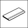Crossville Cross-Grip 8 x 8 Stair Tread (Carton) 4 x 8
