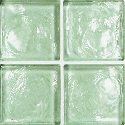 Crossville Echo Recycled Glass Clear 1 x 1 (Dropped) Peerless Clear EG290