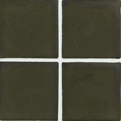 Crossville Echo Recycled Glass Frosted 1 x 1 (Dropped) Green Galaxy Frosted EG100