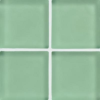 Crossville Echo Recycled Glass Frosted 1 x 1 (Dropped) Peerless Frosted EG290