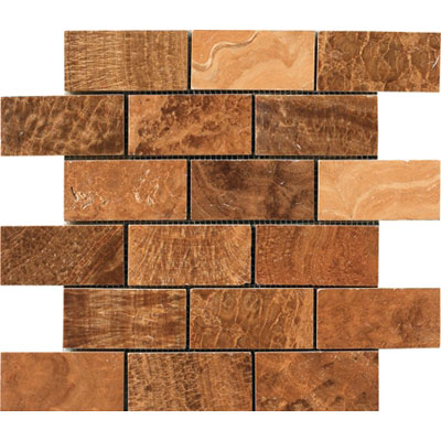 Crossville Modern Mythology Electra Brick Mosaic Timber S00510204BR