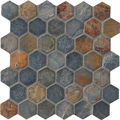 Crossville Modern Mythology Slate Hexagon Slate S008.10202HEX