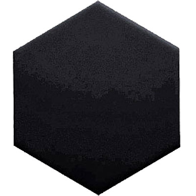 Crossville Savoy Hexagon 4 x 4 Black Hex VS135