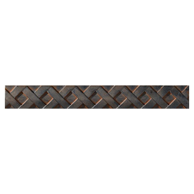 Crossville Urban Renewal - Aged Iron 6 x 6 Lattice Liner M300 10212LTL