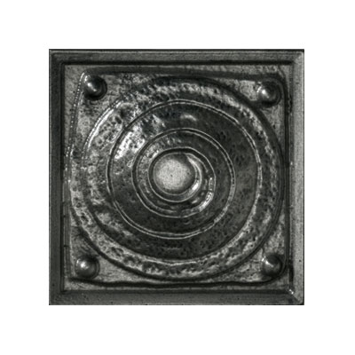 Crossville Urban Renewal - Blacksmith Iron 6 x 6 Large Modern Spiral Deco M200 10404LSPD