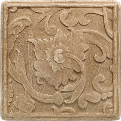 Daltile Arabesque Decos and Inserts Sienna Fabrege Deco FA78 44DECOA1P