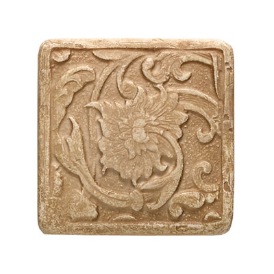 Daltile Arabesque Decos and Inserts Sienna Fabrege Insert FA78 22DECOA1P