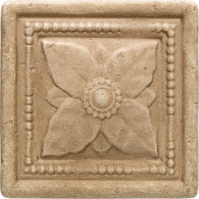 Daltile Arabesque Decos and Inserts Sienna Laurel Deco FA78 44DECOB1P