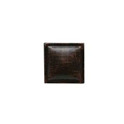Daltile Armor 2 x 2 Dot Oil Rubbed Bronze 2 x 2 Pillow AM32 22DOTB1P