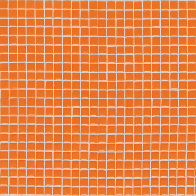Daltile Athena Mosaics Solid 12 x 12 Orange Burst AH311212MS1P