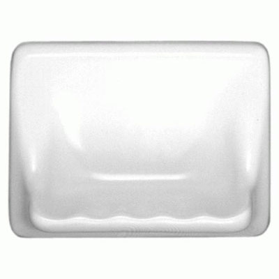 Daltile Bathroom Accessories Universal Universal White Soap Dish U100 BA5010T
