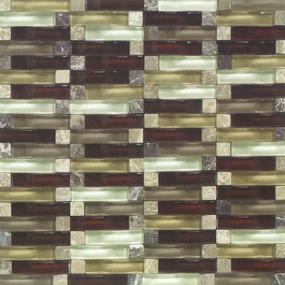 Daltile Bridges Mosaic 12 x 12 Golden Gate GOLDEN GATE