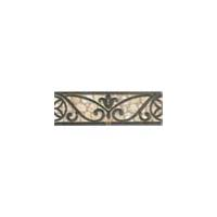 Daltile Fashion Accents Classics Wrought Iron Accent Strip 3 x 8 Beige Wrought Iron FA30 38LIST1P