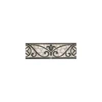Daltile Fashion Accents Classics Wrought Iron Accent Strip 3 x 8 Grey Wrought Iron FA32 38LIST1P
