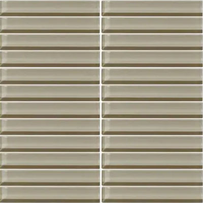 Daltile Classic Colors Mesh Mounted 1 x 6 Casual Tan CW07 16MS1P