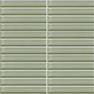 Daltile Classic Colors Mesh Mounted 1 x 1 Green Parade CW15 11MS1P