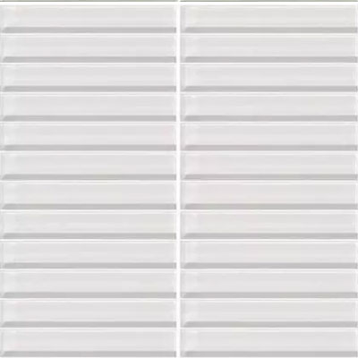Daltile Classic Colors Mesh Mounted 1 x 1 Ice White CW01 11MS1P