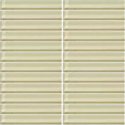 Daltile Classic Colors Mesh Mounted 1 x 1 Whipped Cream CW05 11MS1P