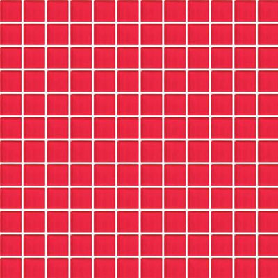 Daltile Vibrant Colors Mesh Mounted 1 x 6 Red Hot CW30 16MS1P