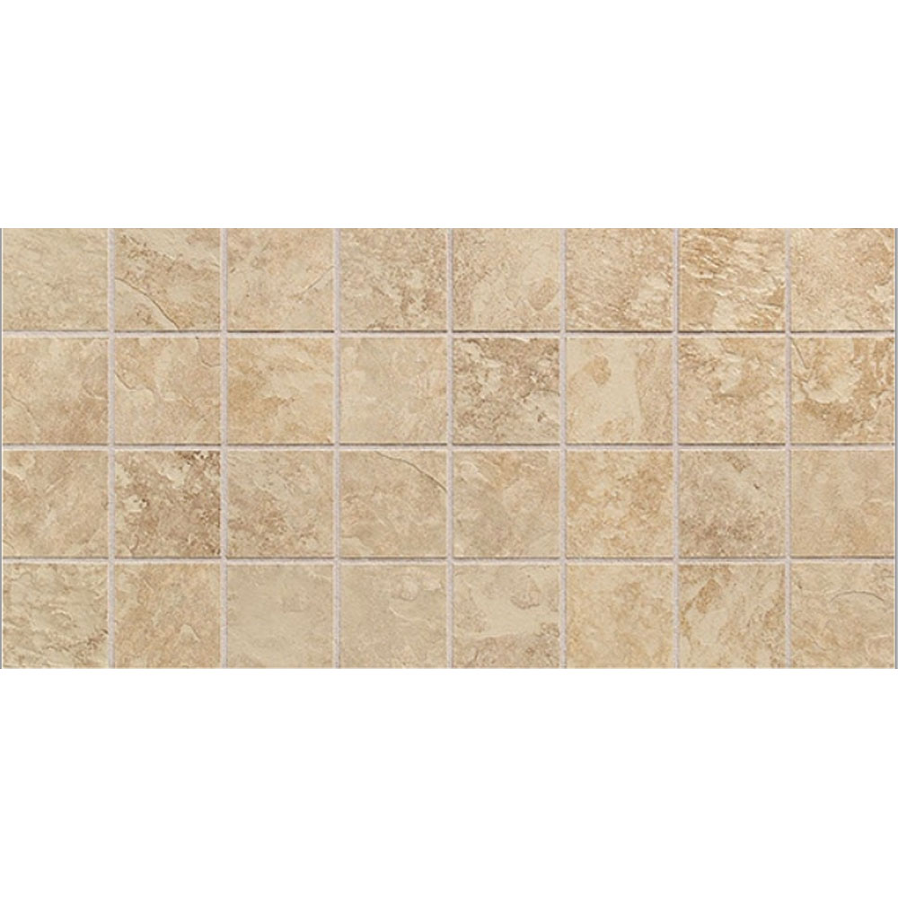Daltile Continental Slate Mosaic 12 x 24 Egyptian Beige CS50 33MSCER1P2