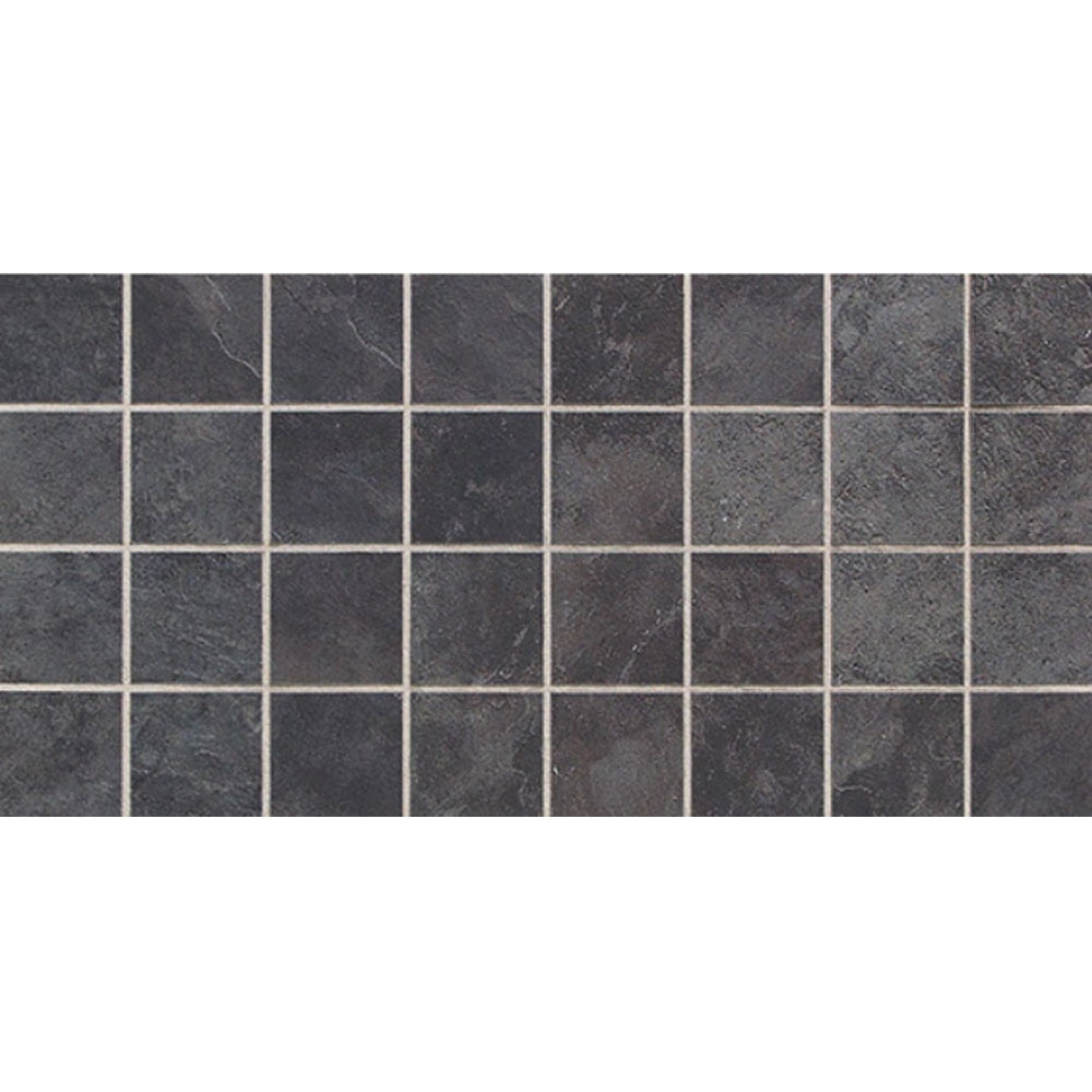 Daltile Continental Slate Mosaic 12 x 24 Asian Black CS53 33PMS1P2