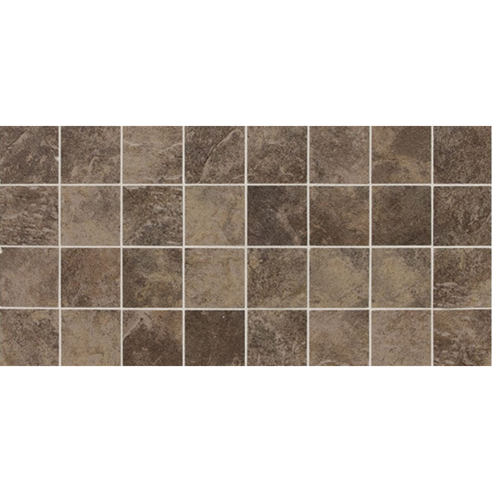 Daltile Continental Slate Mosaic 12 x 24 Moroccan Brown CS55 33MSCER1P2
