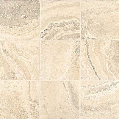 Daltile Cortona Unpolished 16 x 24 White Flora CR14 16241P