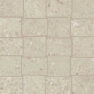 Daltile Dignitary Abstract Mosaic Abstract Notable Beige