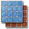 Egyptian Glass Mosaics Clear 1 x 1