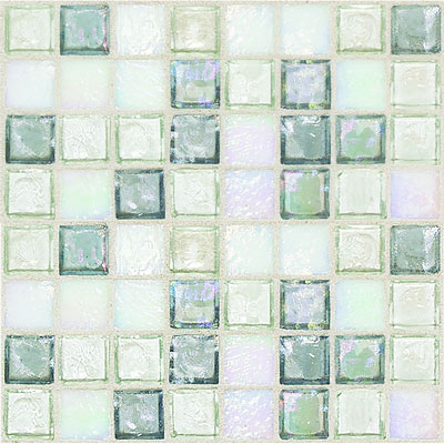 Daltile Egyptian Glass Mosaics 1 x 1 Blends Moonstone Blend EG30 11PM1P